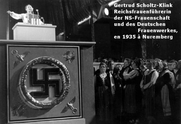 Gertrud Scholtz-Klink 1935 Nuremberg