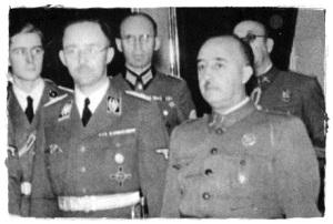 El Reichsführer y el Caudillo
